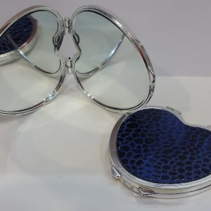 Дамско огледалце – синьо